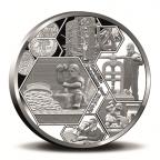 Médaille argent BE 2017 - Monnaie Royale des Pays-Bas Avers