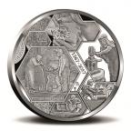 Médaille argent BE 2017 - Monnaie Royale des Pays-Bas Revers
