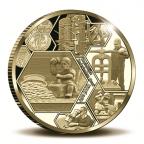 Médaille or BE 2017 - Monnaie Royale des Pays-Bas Avers