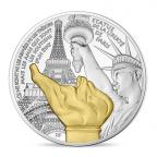 10 euro France 2017 argent BE - Statue de la Liberté de Paris Avers