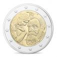 2 euro commémorative France 2017 BE - Rodin et son Penseur Avers