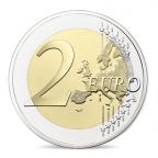2 euro commémorative France 2017 BE - Rodin et son Penseur Revers