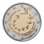 2 euro commémorative Slovénie 2017 - 10 ans de l'euro slovène