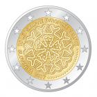 Projet par Matjaž Učakar non adopté 2 euro commémorative Slovénie 2017 - 10 ans de l'euro slovène