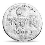 10 euro France 2017 argent BE - Catherine de Médicis Revers