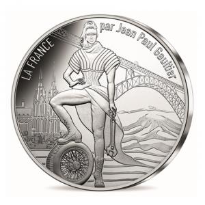 10 euro France 2017 argent - L'Auvergne volcanique Avers
