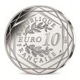 10 euro France 2017 argent - L'Auvergne volcanique Revers