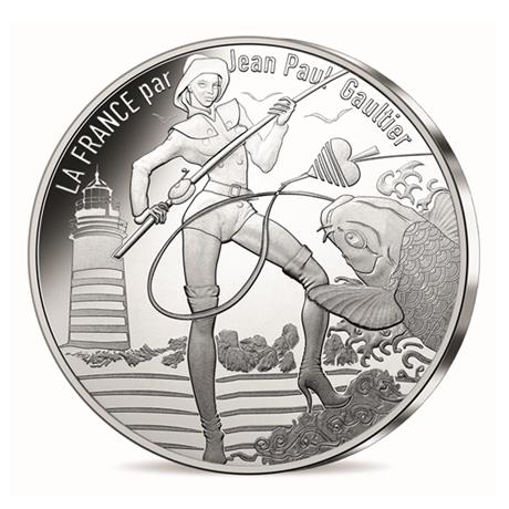 10 euro France 2017 argent - La Bretagne pêchue Avers