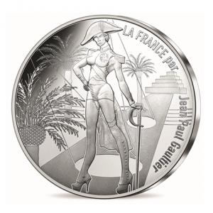 10 euro France 2017 argent - La Corse, Corsica Avers