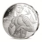 10 euro France 2017 argent - La Provence rayonnante Avers
