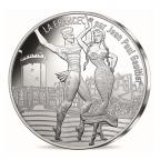 10 euro France 2017 argent - Le Roussillon dansant Avers
