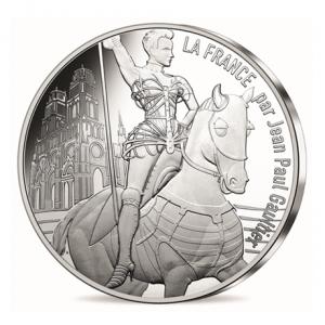 10 euro France 2017 argent - Orléans la Victorieuse Avers