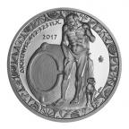 10 euro Grèce 2017 argent BE - Diogène Avers