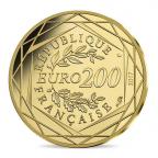 200 euro France 2017 or BU - La France Revers