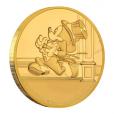 2,5 dollars Niue 2017 0,5 gramme or BE - Rendez-vous retardé Revers (visuel complémentaire)