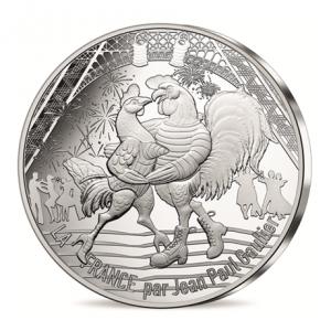 50 euro France 2017 argent - 14 juillet Avers
