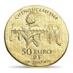 50 euro France 2017 or BE - Catherine de Médicis Revers