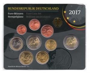 (EUR03.CofBU&FDC.2017.Cof-BU.A.000000002) Coffret BU Allemagne 2017 A Verso (zoom)