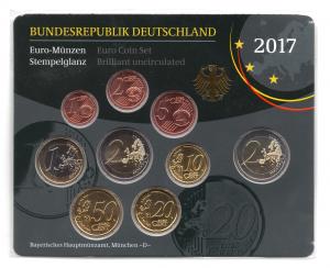 (EUR03.CofBU&FDC.2017.Cof-BU.D.000000002) Coffret BU Allemagne 2017 D Verso (zoom)