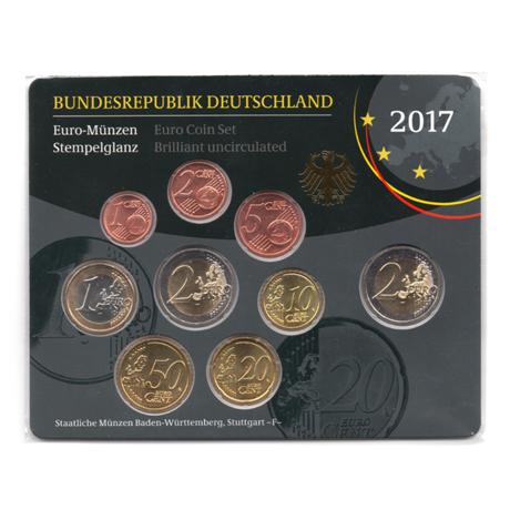 Coffret Bu Allemagne 2017 F Elysées Numismatique