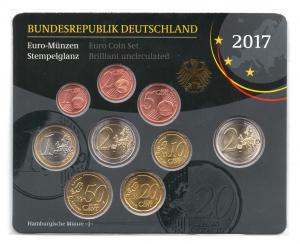 (EUR03.CofBU&FDC.2017.Cof-BU.J.000000002) Coffret BU Allemagne 2017 J Verso (zoom)