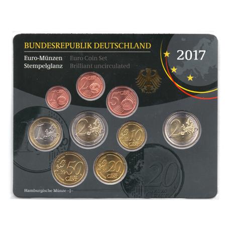 (EUR03.CofBU&FDC.2017.Cof-BU.J.000000002) Coffret BU Allemagne 2017 J Verso