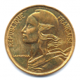 (FMO.005.1996.13.38.000000001) 5 centimes Marianne 1996 (4 plis) Avers
