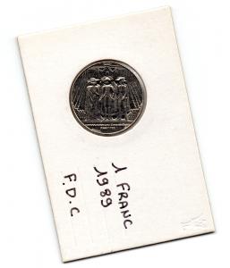 (FMO.1.1989.29.1.000000001) 1 Franc Etats généraux 1989 Recto (zoom)