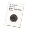 (FMO.1.1989.29.1.000000001) 1 Franc Etats généraux 1989 Verso