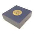 (MATMDP.Cofméd&écr.Ecr.97mmx97mmx28mm) Boîte pour médaille Monnaie de Paris (fermée)