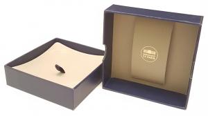 (MATMDP.Cofméd&écr.Ecr.97mmx97mmx28mm) Boîte pour médaille Monnaie de Paris (intérieur) (zoom)