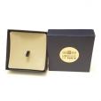 (MATMDP.Cofméd&écr.Ecr.97mmx97mmx28mm) Boîte pour médaille Monnaie de Paris (ouverte)