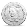 10 euro France 2017 argent BE - Marquise de Pompadour Avers