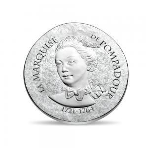 10 euro France 2017 argent BE - Marquise de Pompadour Avers (zoom)