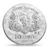 10 euro France 2017 argent BE - Marquise de Pompadour Revers