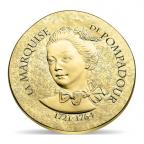 50 euro France 2017 or BE - Marquise de Pompadour Avers