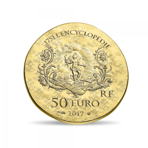 50 euro France 2017 or BE - Marquise de Pompadour Revers (zoom)
