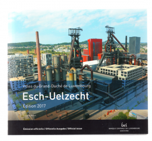 (EUR11.CofBU&FDC.2017.Cof-BU.000000002) Brilliant Uncirculated coin set Luxembourg 2017 Front (zoom)