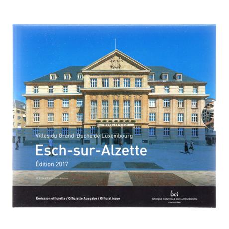 (EUR11.CofBU&FDC.2017.Cof-BU.000000002) Coffret BU Luxembourg 2017 Recto