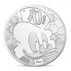 10 euro France 2017 argent BE - Picsou Avers