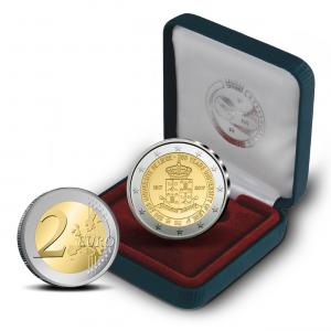 2 euro commémorative Belgique 2017 BE - Université de Liège (zoom)