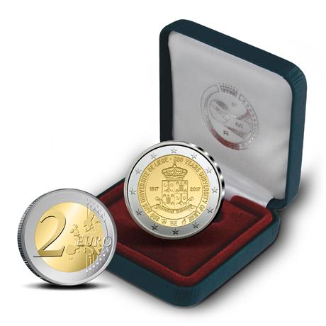 2 euro commémorative Belgique 2017 BE - Université de Liège