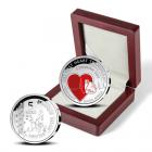 5 euro Belgique 2017 argent BE - Première transplantation cardiaque