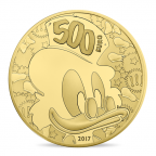 500 euro France 2017 or BE - Picsou Avers
