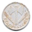 (FMO.1.1944.24.4.000000001) 1 Franc Francisque, légère 1944 Avers