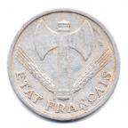 (FMO.1.1944.24.4.000000003) 1 Franc Francisque, légère 1944 Avers