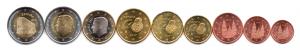 (LOT.EUR05.001to200.2017.1.BU.000000002) 1 cent à 2 euro commémorative Espagne 2017 Avers (zoom)