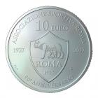 10 euro Saint-Marin 2017 argent BU - AS Roma Revers