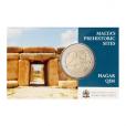 2 euro commémorative Malte 2017 BU - Ħaġar Qim Recto