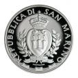 5 euro Saint-Marin 2017 argent BE - Jeux des petits états d'Europe Avers
